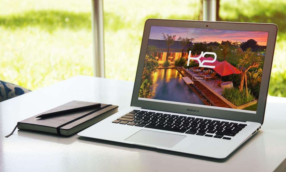 K2 Stylish Hotel Website by kusumahendra.com